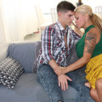 Maturenl - Big breasted MILF having a date with a younger Gigolo