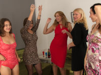 Maturenl - Five horny women have a sexparty and we're all invited to watch.