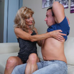 Maturenl - Horny mature housewife fucks her toyboy