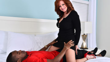 Maturenl - Hot MILF fucking and sucking a big black cock