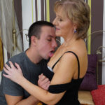 Maturenl - Mature housewife gets fucked by her toyboy