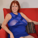 Maturenl - Naughty American mature lady playing with herself