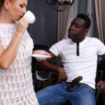 Maturenl - Naughty MILF getting an anal fuck from a strapping black guy