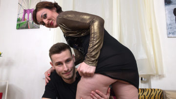 Maturenl - Naughty horny housewife fucking and sucking her toy boy