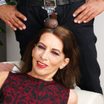 Maturenl - This naughty mature lady is ready for her black surprise