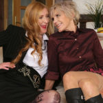 Maturenl - Two mature lesbians go all the way