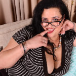 Maturenl - Big Breasted American BBW Playing With Her Toy