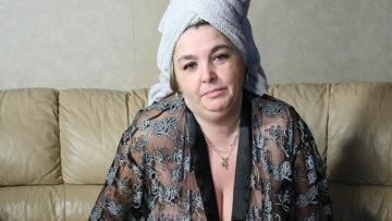 Maturenl - Big Mama Getting Jizz On Her Tits