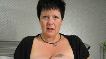 Maturenl - Big Titted Mama Squirts Heavily When She Cums