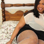 Maturenl - British Black BBW Showing Off Her Big Tits