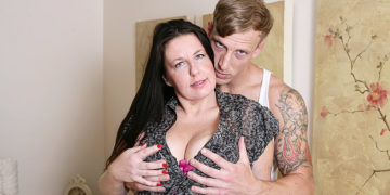 Maturenl - Horny British Housewife Fucking Her Toy Boy