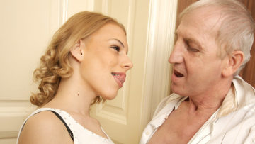 Maturenl - Horny Old Bastard Doing A Hot Babe