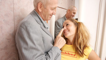 Maturenl - Hot Babe Doing A Dirty Old Man