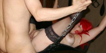 Maturenl - Kinky Housewife Fucked In The Basement