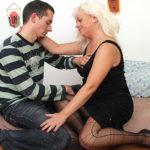 Maturenl - Naughty Blonde Mama Getting Fucked Hard