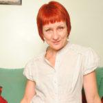 Maturenl - Sexy British Redhead Playing With Herself