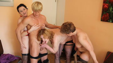 Maturenl - These Kinky Mature Women Love To Share A Hard Cock