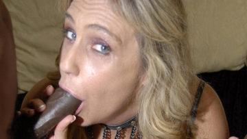 Maturenl - This Blonde Mama Needs Black Cocks
