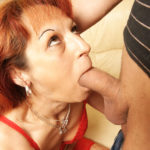 Maturenl - This Horny Housewife Gets An Anal Creampie