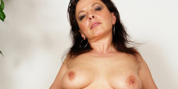 Maturenl - This Horny Mature Slut Loves A Younger Cock Inside Her