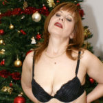 Maturenl - This Mature Christmas Slut Has Her Present