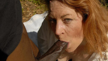 Maturenl - This Red Mama Loves To Swallow Black Cock