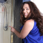 Maturenl - This horny American MILF loves to get dirty in the shower