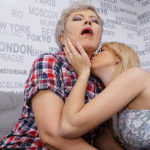 Maturenl - Two Horny Old And Young Lesbians Licking Each Other