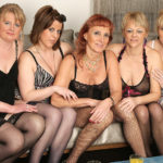 Maturenl - Welcome To A Hot Old And Young Lesbian Party
